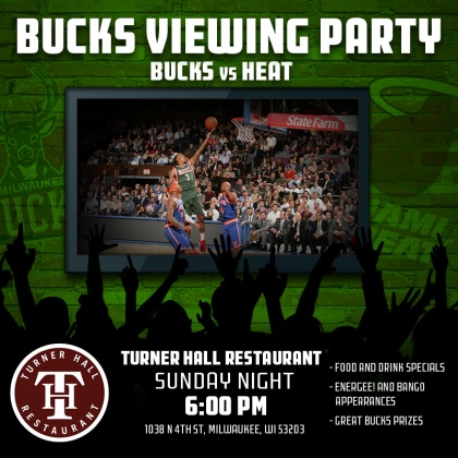 Bucks Viewing Party