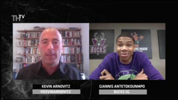 Giannis on TrueHoopTV